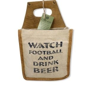 Clea Ray Watch Football & Drink Beer Caddy